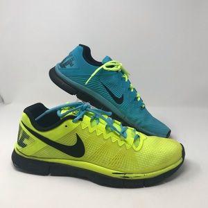 Nike Free Run 3,0 Men's Sneakers Blue Yellow M